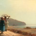 Camille Pissarro Frauen im Gespräch