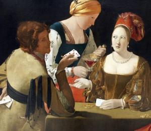Georges de la Tour- Der Falschspieler