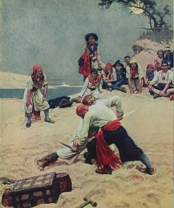 Howard Pyle - Who Shall Be The Captain