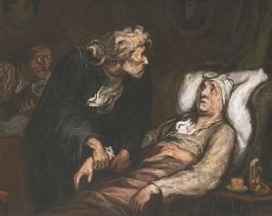 Der Eingebildete Kranke - Honore Daumier